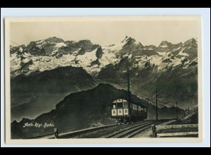 W3H28/ Arth-Rigi-Bahn Bergbahn Foto AK ca.1930