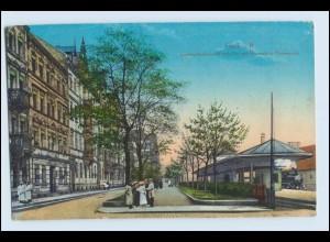 W3E75/ Fürth i. B. Ludwigs-Bahnhof AK 1916