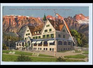 W3F92/ Rittenbahn Hotel Oberbozen AK 1914