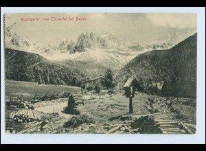 W3F91/ Rosengarten bei Bozen AK 1913
