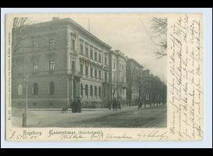 W4M75/ Augsburg Kaiserstraße 1904 AK