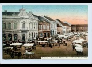 N4225/ Versecz Ferencz Franz Josef-Platz AK Serbien 1915