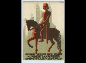 DP345/ Speyer Hundertjahrfeier 1927 schöne AK