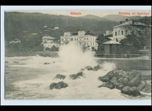 W3P41/ Abbazia Kroatien AK 1910