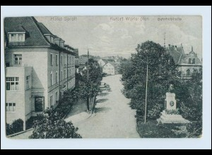 W3V69/ Wörishofen Hotel Sproll AK 1918