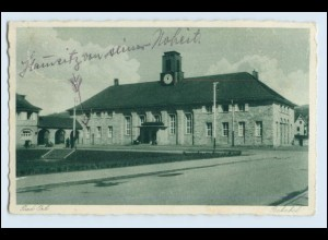 W3T02/ Bad Orb Bahnhof AK 1932