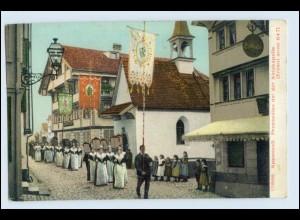 W3T41/ Appenzell Prozession AK ca.1910