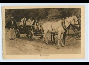 W3U06/ Panje Wagen in Polen AK ca.1915