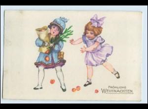 W3W30/ Weihnachten Kinder schöne AK 1932