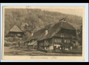 W3X08/ Schwarzwaldhaus No. 36 Verlag: Elchlepp 1922