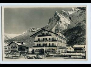 W5H23/ Mittenwald Hotel Erdt Foto AK 1939
