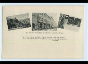 Y11903/ Heidelberg Gasthof Perkeo AK 1926