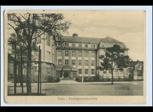 W5E60/ Trier Kunstgewerbeschule AK 1915