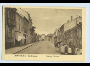 W5F70/ Chateau-Salins Lothringen AK Solvay Straße AK ca.1915