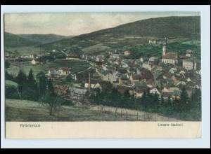 W5E36/ Brückenau Unterer Stadtteil AK 1907