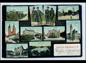W5D49/ Gruß aus Altenburg AK 1914