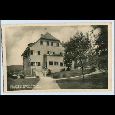 W5L01/ Unterleinleiter Erholungsheim Foto Ak ca.1938