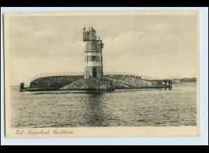 W5M28/ Kiel Friedrichsort Leuchtturm AK 1938