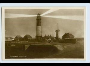 W5M26/ Helgoland Leuchtturm Foto AK ca.1930