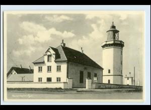 W5M24/ Hanstholm Fyr Leuchtturm AK Dänemark ca.1955