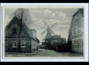 DP434/ Borstel Jork im Altenlande Windmühle Mühle ca.1940 AK