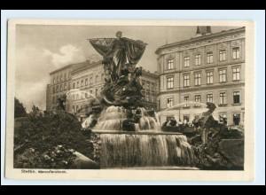 W5Q24/ Stettin Manzelbrunnen AK ca.1930