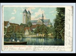 W5P80/ Klosterlausnitz Gruß aus Klosterlausnitz 1902 AK
