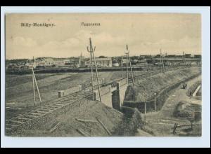 W5Q97/ Billy-Montigny AK 1916 Frankreich