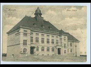 A2796/ Husum Neue Schule 1909 AK