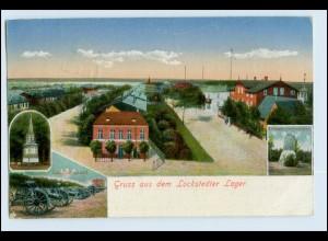 W6G39/ Lockstedter Lager Truppenübungsplatz AK 1918