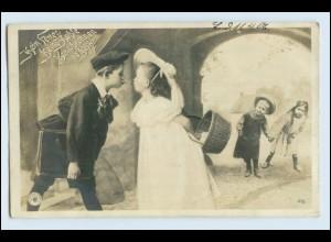 W5U34/ Kinder schöne Foto AK Fontomontage 1906