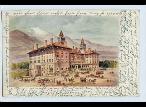 W5T70/ Antlers Hotel Colorado USA AK 1906