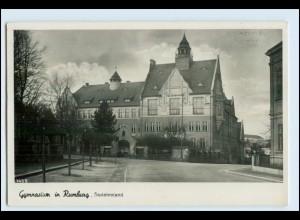 W5V14/ Rumburg Gymnasium Sudetenland Foto AK Tschechien ca.1940