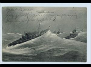 W5V33/ Torpedobootsdivision AK 1910 Kriegsschiffe