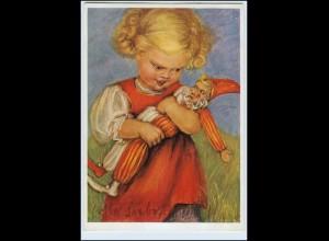 X1L57/ M. Spötl AK Nr. 398 Mädchen mit Puppe ca.1935