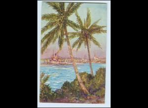 W6C40/ Kolonialkriegerdank AK Daressalam Deutsch-Ostafrika W. Stöwer