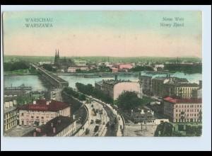 W6E41/ Warschau Neue Welt AK Polen ca.1914