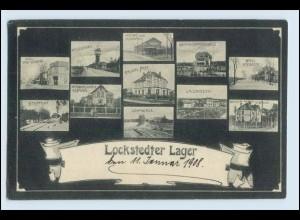 W6E92/ Truppenübungsplatz Lockstedter Lager schöne AK 1908
