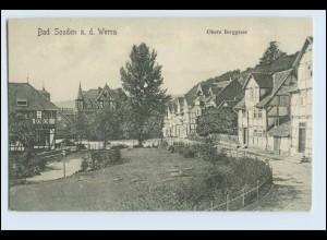 N7137-3437/ Bad Sooden-Allendorf Bad Sooden a.d. Werra Obere Berggasse AK