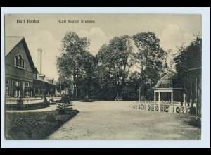 W6K76-994./ Bad Berka Carl August Brunnen AK 1915 (b)