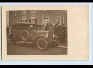 W7E80/ Fiat tolle Original- Foto AK ca. 1930 Oldtimer (b)