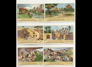 W6L69/ Liebig Serie Nr. 1097 Eigenartige Wohnbauten