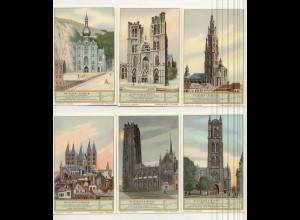 W6L59/ Liebig Serie 1046 Belgische Kirchen Belgien