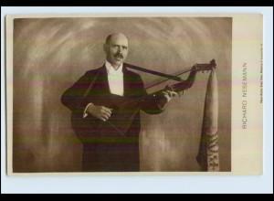W6M48/ Richard Nesemann mit Laute Foto AK ca.1925