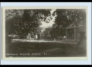 W6R70/ Zoological Gardens Karachi Pakistan Foto AK Zoo ca.1925