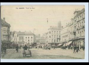 P2T27/ Anvers Place de Meir AK ca.1915