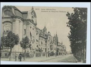 W6X35/ Metz Lothringen Kaiser Wilhelm Ring AK 1908