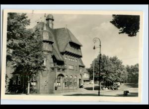 W7A40/ Burg auf Fehmarn Rathaus 1953 Foto AK (b)