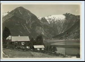 W6X39/ Esseffjord Norwegen Foto Ak ca.1935