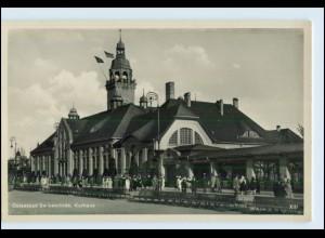 W6X59/ Swinemünde Kurhaus Foto AK ca.1935 Pommern